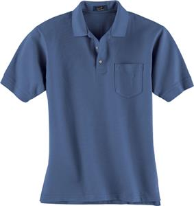Ash City Mens Pique Polo With Pocket