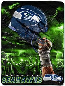 Northwest NFL Seattle Seahawks Raschel Throws