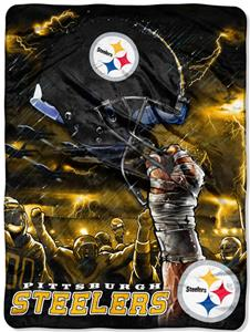 Northwest NFL Pittsburgh Steelers Raschel Throws