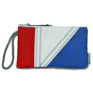 Sailorbags Sailcloth Tri-Sail Wristlet