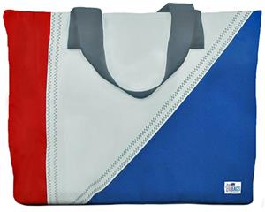 Sailorbags Medium Sailcloth Tri-Sail Tote Bags