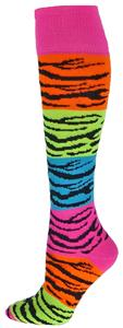 Red Lion Rainbow Tiger Socks