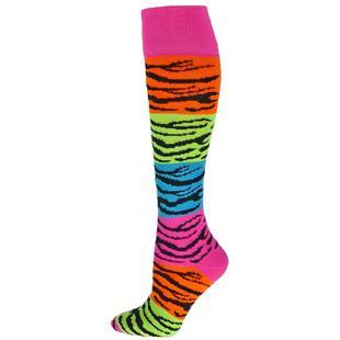 Red Lion Rainbow Tiger Socks