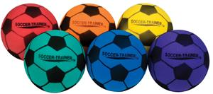 Champion Sports Ultra Foam Soccer Balls-Set of 6