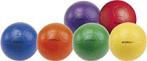 Champion Sports Rhino Soccer Balls Set of 6 Colors