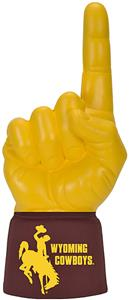 Foam Finger University of Wyoming Combo