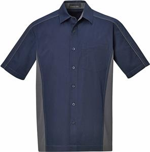 North End Fuse Mens Color Block Twill Shirts