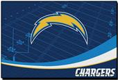 """Northwest NFL San Diego Chargers 39""""x75"""" Rugs"""