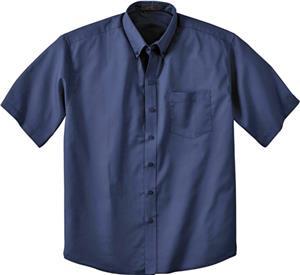 Ash City Mens Short Sleeve Shirt With Teflon