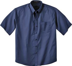 Ash City Mens Short Sleeve Shirt With Teflon