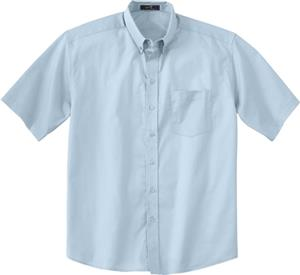 Ash City Mens Short Sleeve Easy Care Twill Shirt