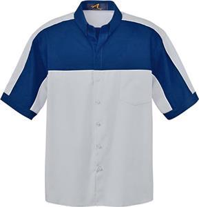 Ash City Mens Color Block Short Sleeve Shirt