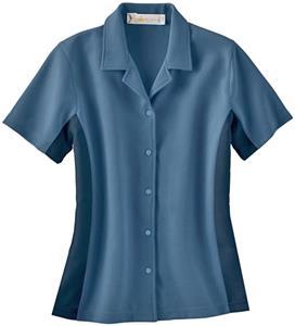 Il Migliore Ladies Knit Ottomon Camp Shirt