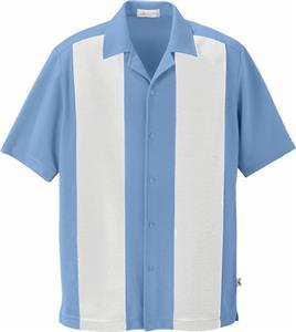 Il Migliore Mens Knit Ottoman Camp Shirt