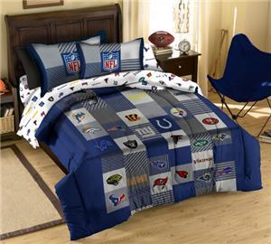 Northwest NFL Multi Team Logos Full Comforter Sets