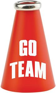 "UltimateHand 7"" Go Team Mini Megaphone"