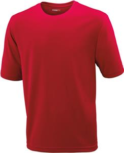 Core365 Pace Mens Performance Pique Crew Neck