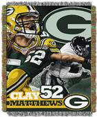 Northwest NFL Packers Clay Matthews Players Throws