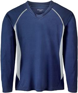 North End Ladies Athletic Long Sleeve Sport Top