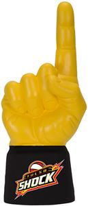 UltimateHand Foam Finger WNBA Tulsa Shock Combo