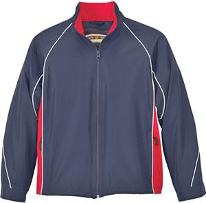 North End Youth Woven Twill Athletic Jacket