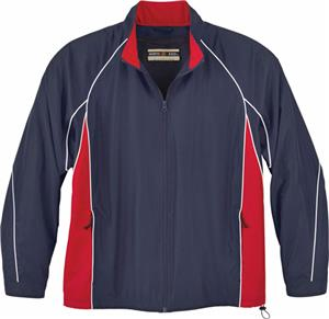 North End Mens Woven Twill Athletic Jacket