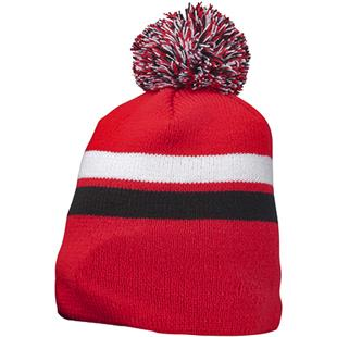 Richardson Pom Pom Stripe Beanies