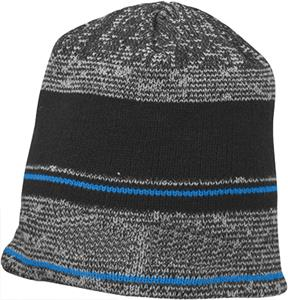 Richardson Mixed Stripe Knit Beanies