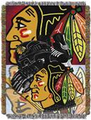 Northwest NHL Chicago Blackhawks Tapestry Throws