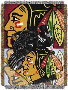 Northwest NHL Chicago Blackhawks Tapestry Throws