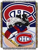 Northwest NHL Montreal Canadiens Tapestry Throws