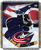 Northwest NHL Columbus Blue Jackets Tapestry Throw