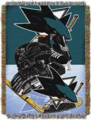 Northwest NHL San Jose Sharks Tapestry Throws