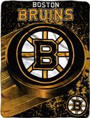 Northwest NHL Boston Bruins Micro Raschel Throws