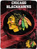 Northwest NHL Blackhawks Micro Raschel Throws