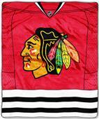 Northwest NHL Chicago Blackhawks Raschel Throws