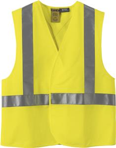 North End X Pattern Safety Vest