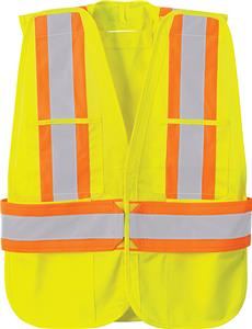 North End X-Pattern 5-Point Tear Away Safety Vest