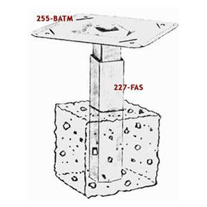 Adams 255-BATM & 227-FAS Baseball Base Anchors-Set
