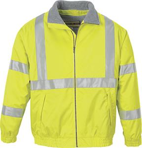 North End Mens Insulated X Pattern Safety Jacket