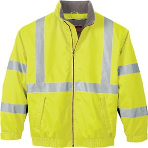 North End Mens Reflective Insulated Safety Jacket