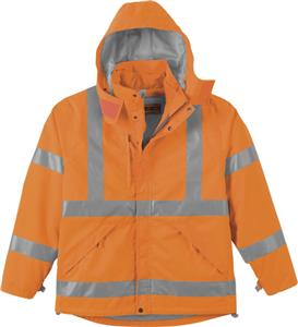 North End Mens 3-in-1 X-Pattern Safety Jacket