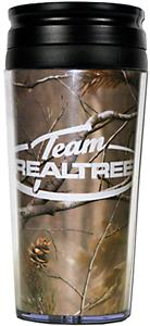 Team Realtree 16oz Acrylic CamoTravel Tumbler