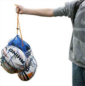Rhino Rugby 4 Ball Mesh Ball Bag