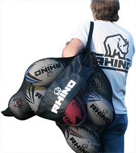 Rhino Rugby Large Mesh Ball Bag