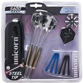 Unicorn S600 Steel Dart Set (3)