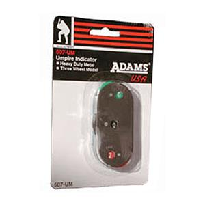 Adams 507-UM Metal Baseball Umpire Indicator