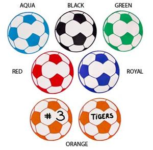 Soccer Ball Magnets Closeout soccer gifts 6 Colors