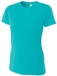 A4 Women's Fitted Cotton T-Shirts