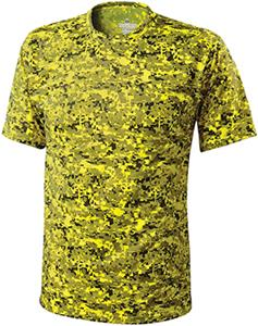 Holloway Erupt Dry-Excel Crew Neck Camo Shirts